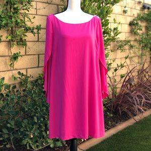 Elegant & comfy hot pink dress by Jessica Simpson